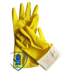Перчатки хозяйственные (резиновые) из латекса