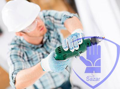 Применени рабочих перчаток